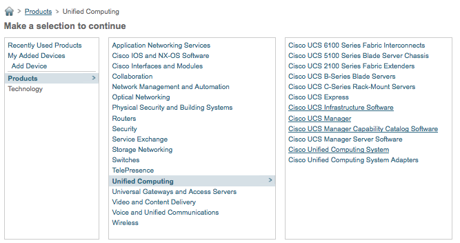 UCSM 1 4 : Where to find firmware now – The Unified Computing Blog